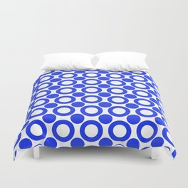 Dot 2 Blue Duvet Cover