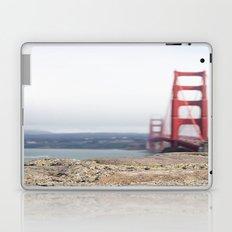 Golden Gate Blur Laptop & iPad Skin
