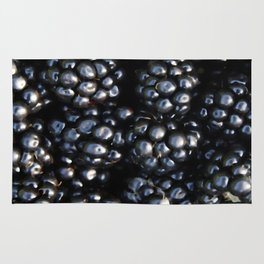 Blackberries Rug