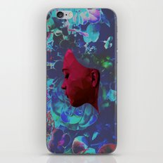 Do You Want to Be My Friend? (Floral Edition) iPhone & iPod Skin