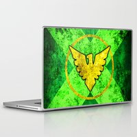 cassandra jean Laptop & iPad Skins featuring Jean Grey by Some_Designs
