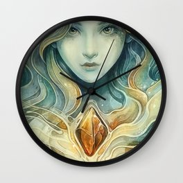 Snowqueen Wall Clock