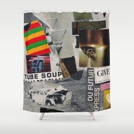 DU FUTUR EXPRESS III Shower Curtain