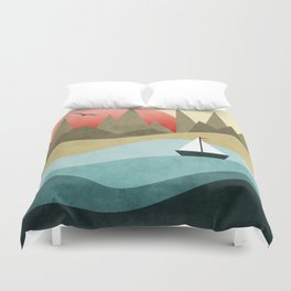 Ocean Adventure 2  Duvet Cover