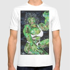 SHE HULK White MEDIUM Mens Fitted Tee