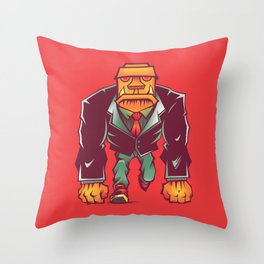 Winston Bricks Throw Pillow