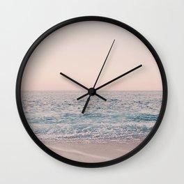 ROSEGOLD BEACH Wall Clock