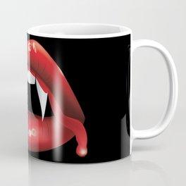 Vampire lips with blood Coffee Mug