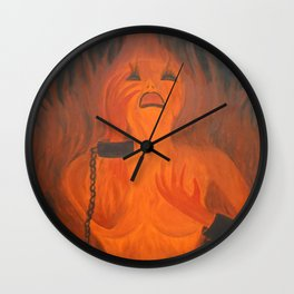 Hell Clamp Wall Clock