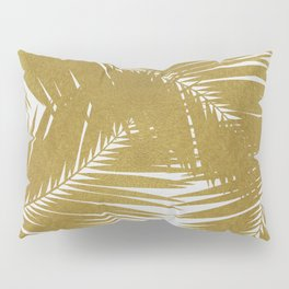 Palm Leaf Gold III Pillow Sham
