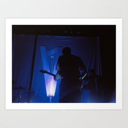 Lauv on stage Art Print