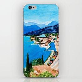 Lake Garda, Italy iPhone Skin