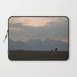 Grand Teton Mountains at Dusk Laptop Sleeve