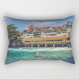 Thun, Switzerland - 2 Rectangular Pillow