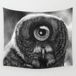 Evolution: Great Gray Owl Wall Tapestry
