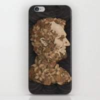 lincoln iPhone & iPod Skins featuring Lincoln by Jessica Roux