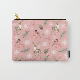 Xmas Pattern Pink #socieyt6 #buyart Carry-All Pouch