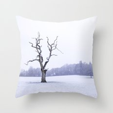 Portrait of a Tree Throw Pillow