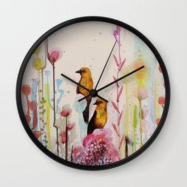 les explorateurs Wall Clock