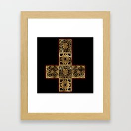 Lament Configuration Cross Framed Art Print