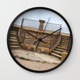 Twin stairs Wall Clock