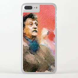 Kurt Vonnegut of Tralfamadore Clear iPhone Case