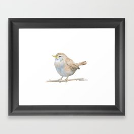 Wren Framed Art Print