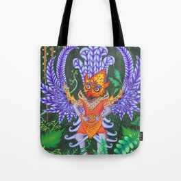 Balinese Garuda Tote Bag