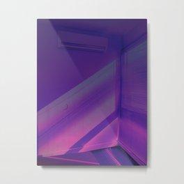 Neon echoes Metal Print