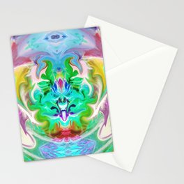 343 - Abstract Colour Design Stationery Cards