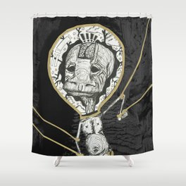 Puppets Shower Curtain