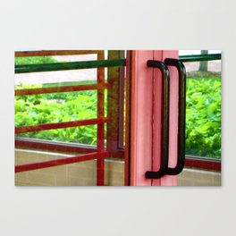 Licorice Door Canvas Print