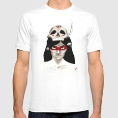 Warpaint Mens Fitted Tee White MEDIUM