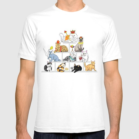 Cats Pyramid T-shirt