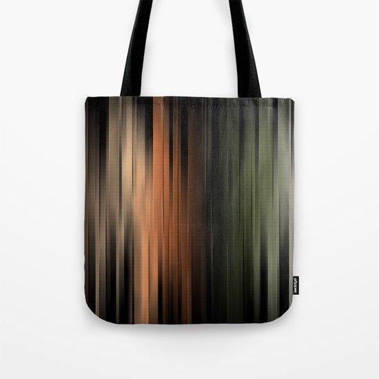 Hues of Autumn Abstract Tote Bag