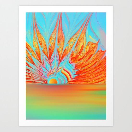 Splendid Sunrise Art Print