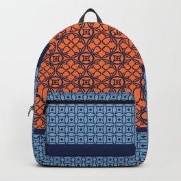 Bohemian Japanese Style Vintage Pattern Backpack