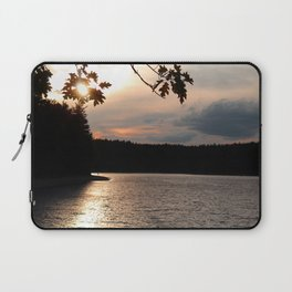 Sunset at Concord's Walden Pond 5 Laptop Sleeve