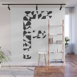 "Tao ""Letter F"" Wall Mural"