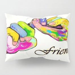 ASL Friend Bright Colors Pillow Sham