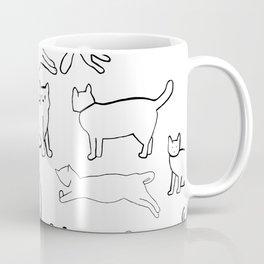 Monochrome cats Coffee Mug