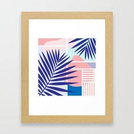 Memphis Mood Framed Art Print