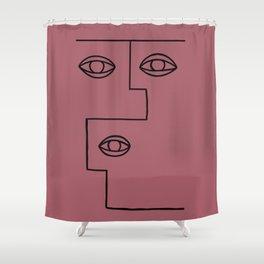 JULIAN I. Shower Curtain