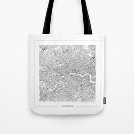 London Map 2 Tote Bag