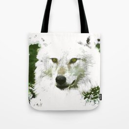 Mystical Wolf Tote Bag