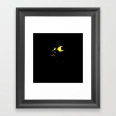 fighting maan Framed Art Print