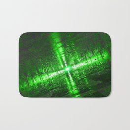 Emerald Tunnels Bath Mat