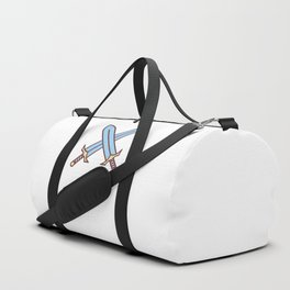 Cute Dungeons and Dragons Fighter class Duffle Bag