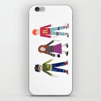 hermione iPhone & iPod Skins featuring Harry, Hermione, and Ron by Janna Morton