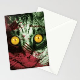 Zombie Kitty Stationery Cards